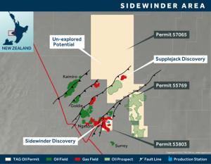 TAG Oil Sidewinder Permits