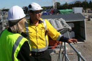TAG Oil team members at Cheal