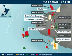 TAG Oil Taranaki Permits 2016