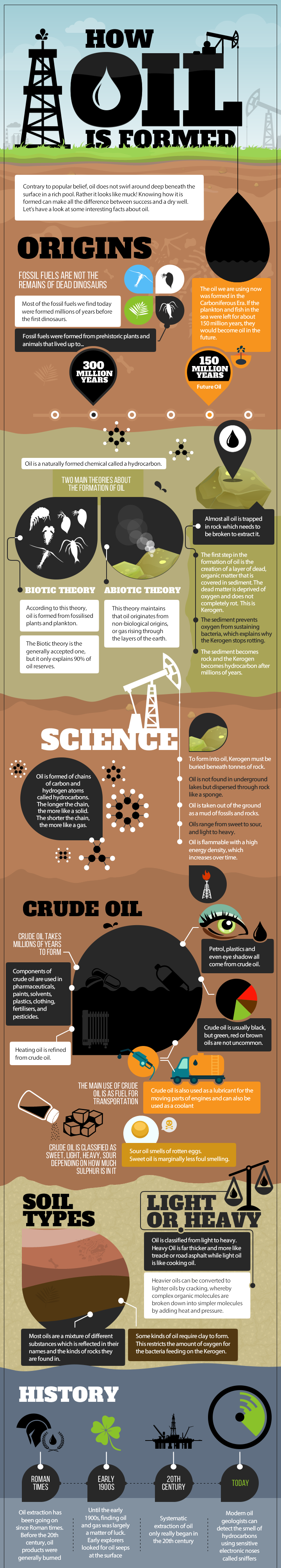 TAG Oil: How oil is formed